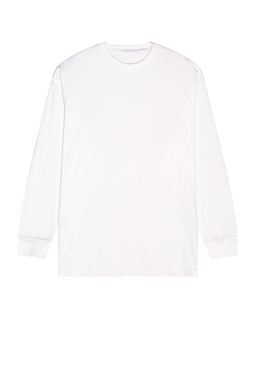 Image 1 of WARDROBE.NYC Oversize Long Sleeve Tee in White