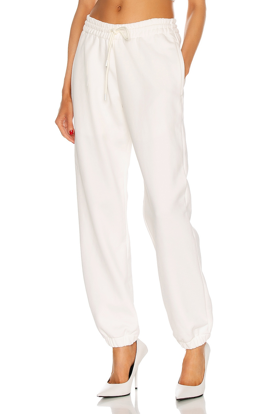 Image 1 of WARDROBE.NYC Track Pant in Off White