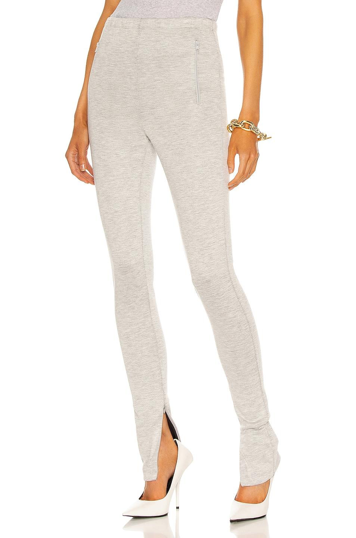 Image 1 of WARDROBE.NYC Side Split Legging in Grey Marl