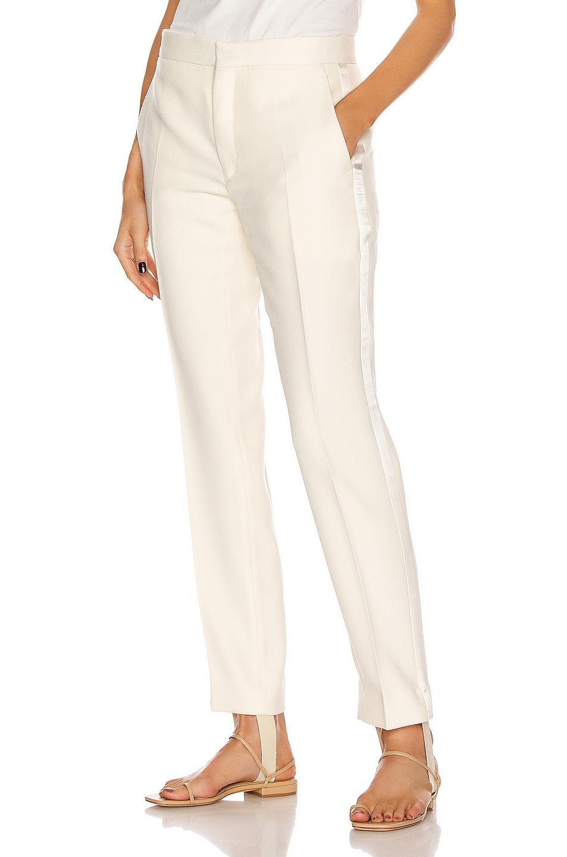 Image 1 of WARDROBE.NYC Tuxedo Trouser Pant in White