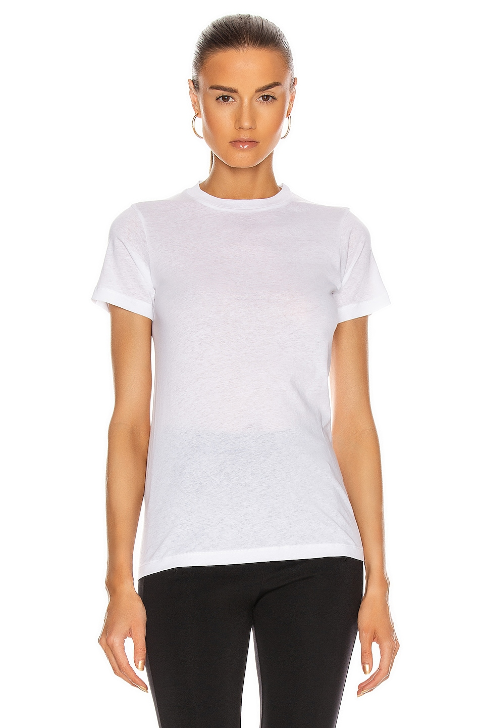 Image 1 of WARDROBE.NYC T-Shirt in White