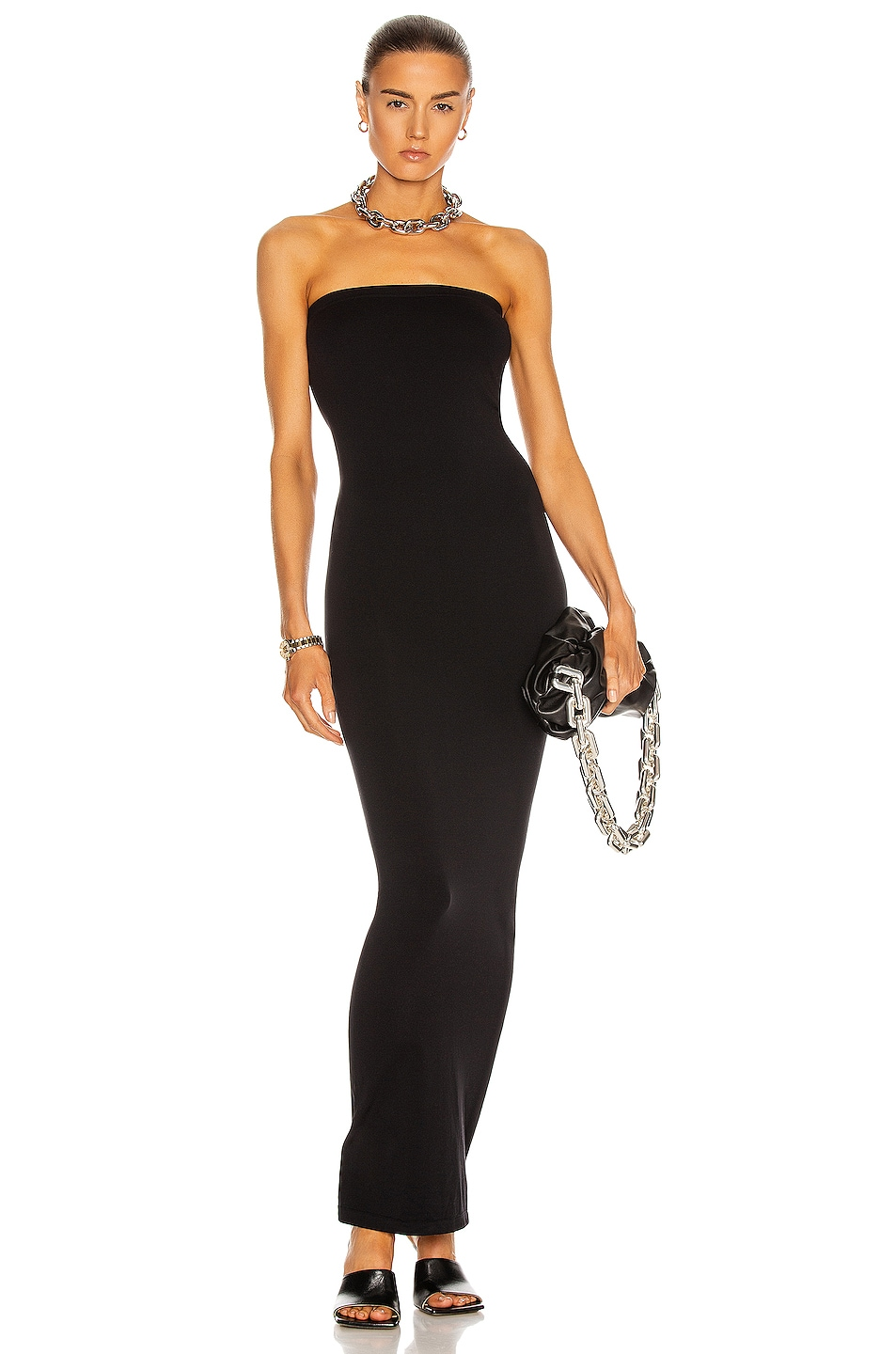Image 1 of Wolford Fatal Dress in Black