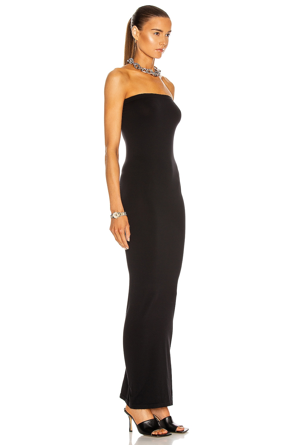 Image 2 of Wolford Fatal Dress in Black