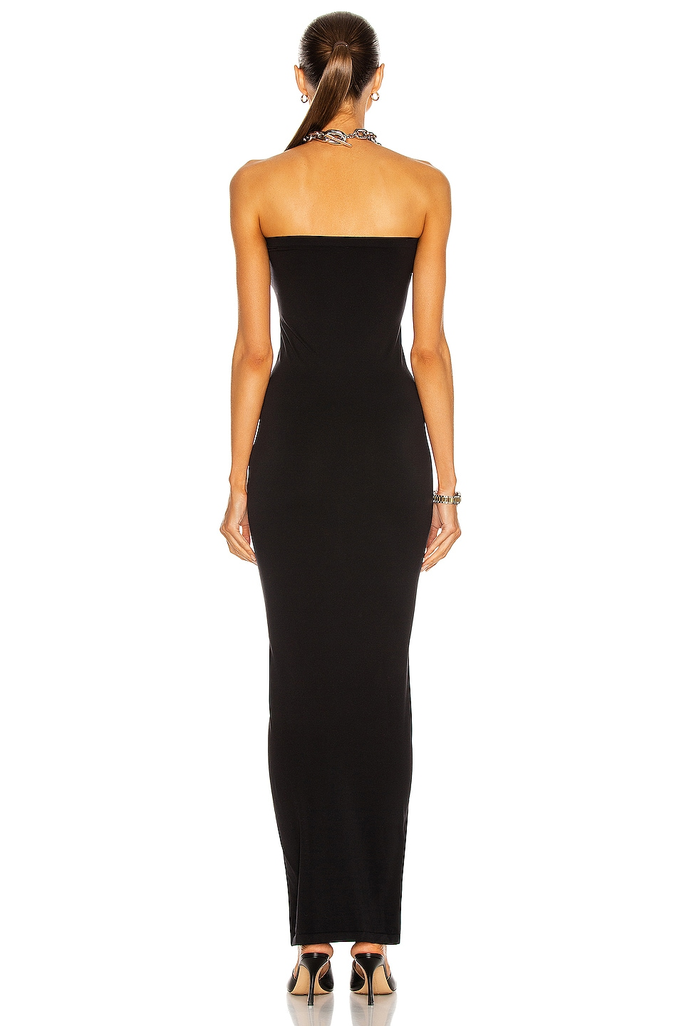 Image 3 of Wolford Fatal Dress in Black