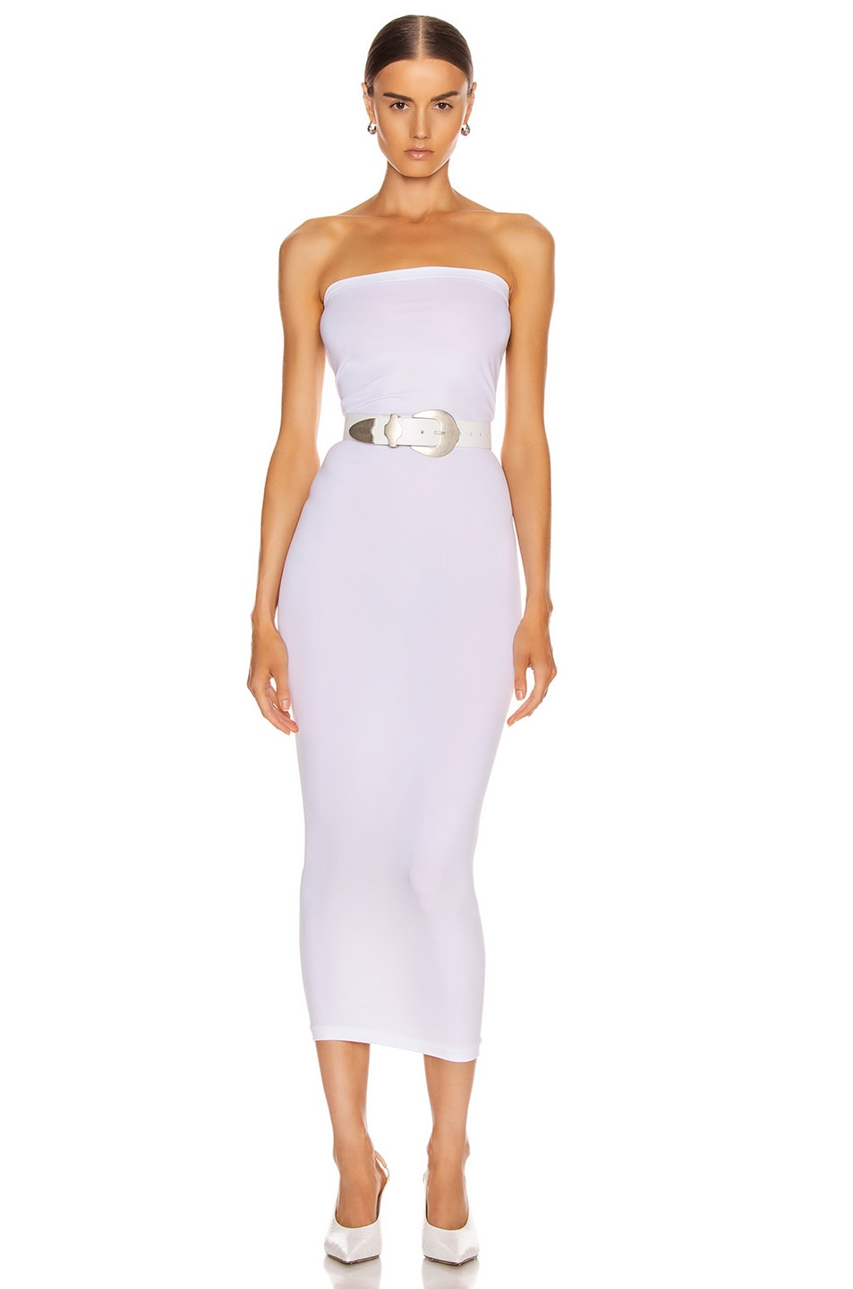 Image 1 of Wolford Fatal Dress in White