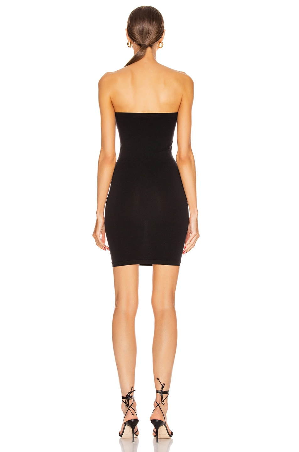 Image 5 of Wolford Fatal Mini Dress in Black