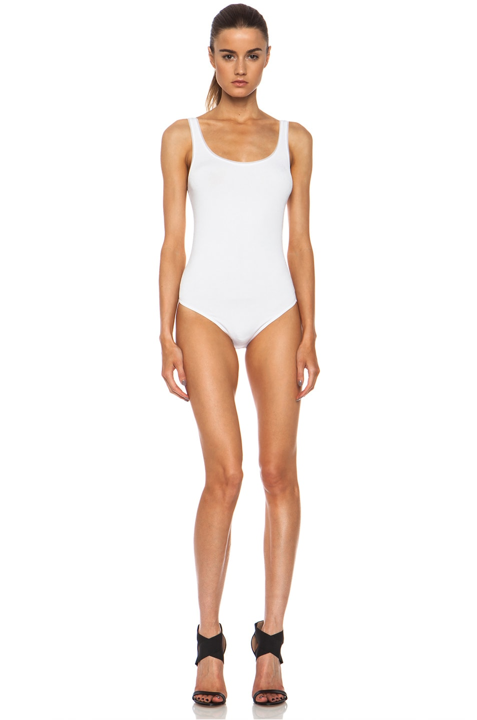 Image 1 of Wolford Jamaika Polyamide-Blend Bodysuit in White