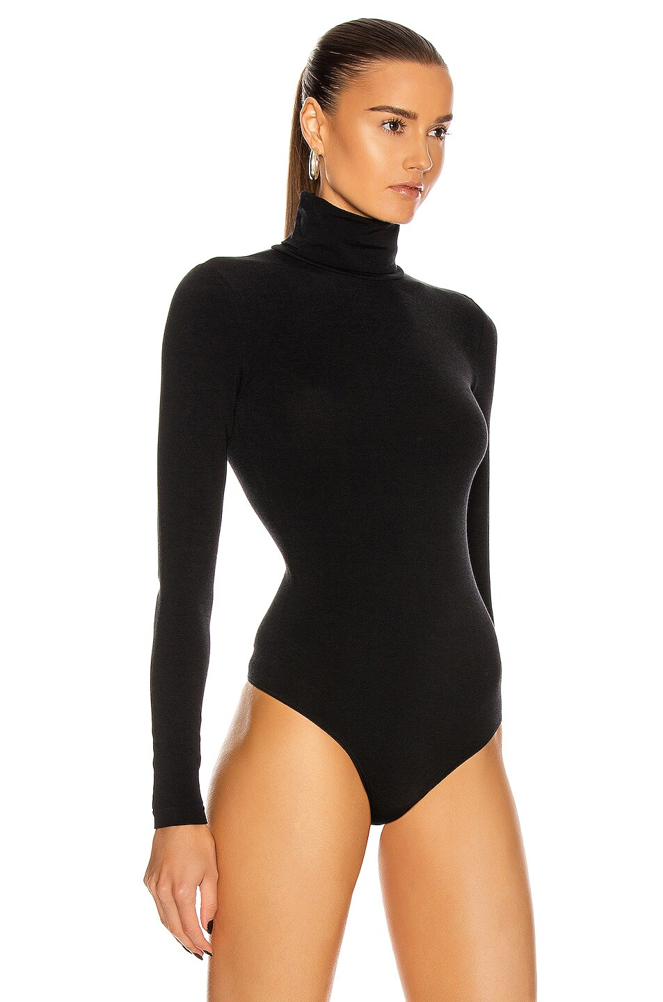 Image 3 of Wolford Colorado String Bodysuit in Black