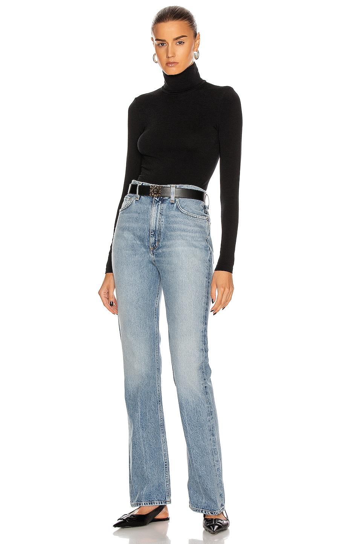 Image 5 of Wolford Colorado String Bodysuit in Black