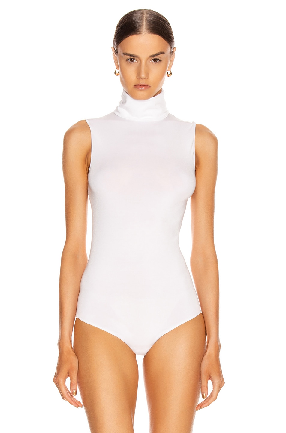 Image 2 of Wolford Viscose String Bodysuit in White