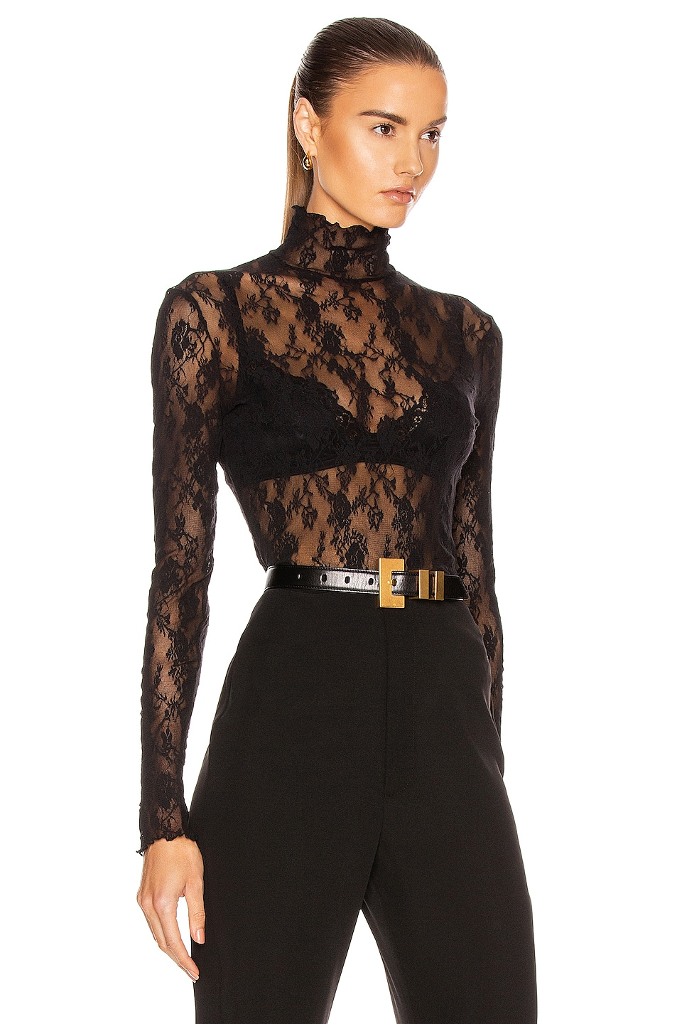 Image 2 of Wolford Katharina Pullover Top in Black