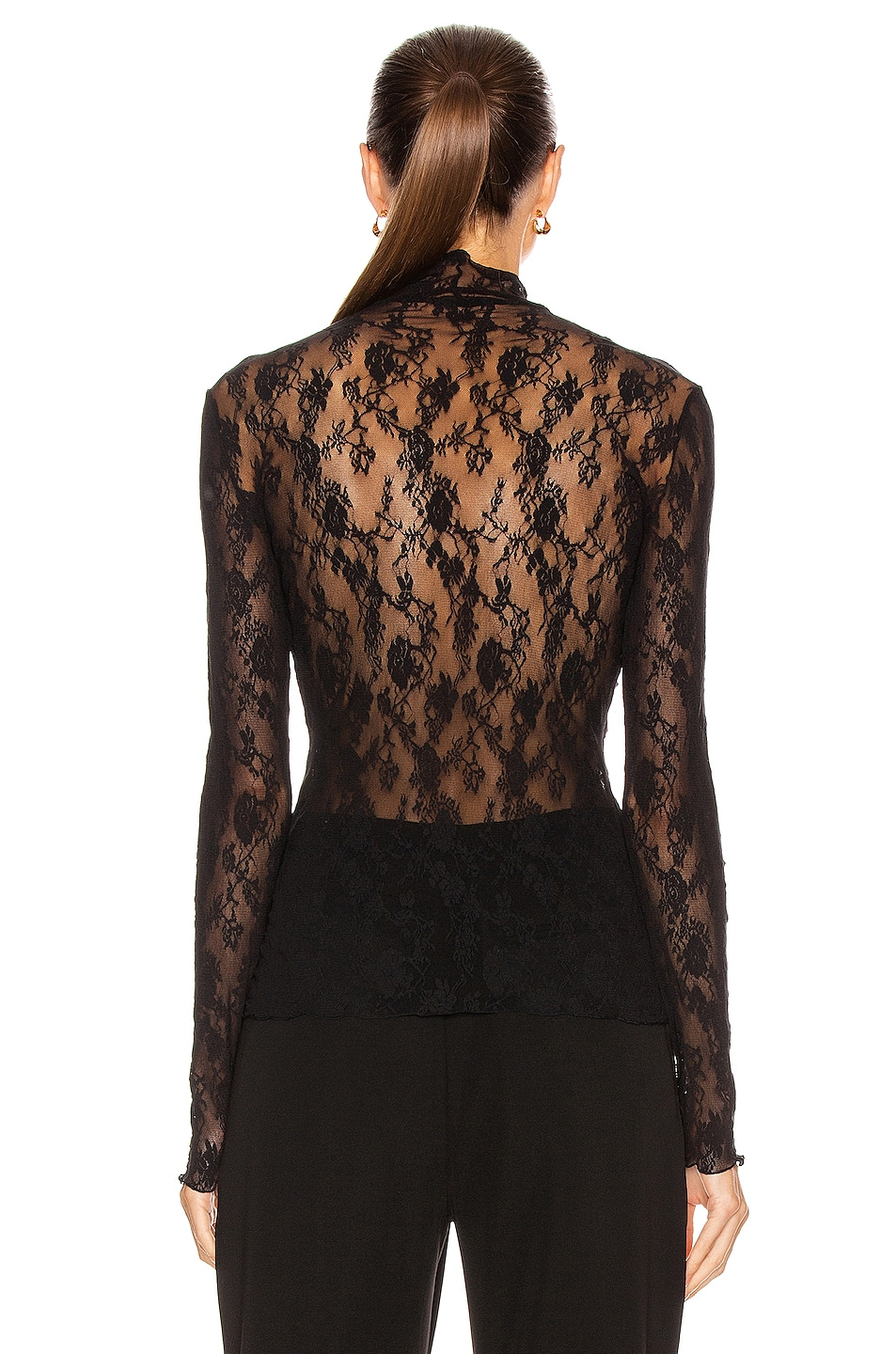 Image 3 of Wolford Katharina Pullover Top in Black