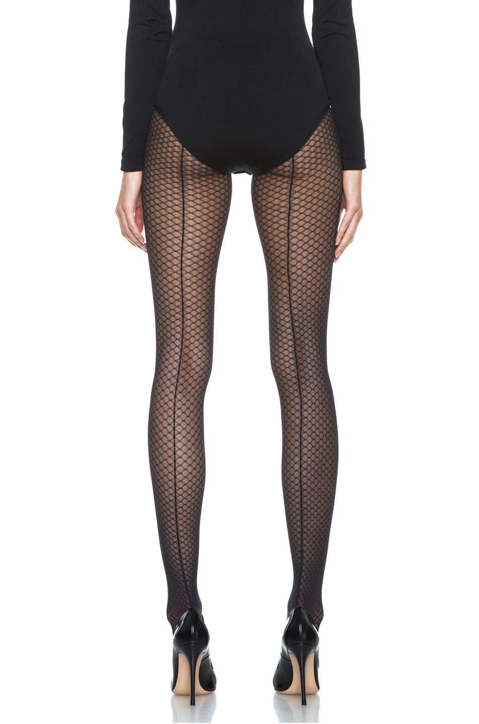 Image 1 of Wolford Iman Tights in Black