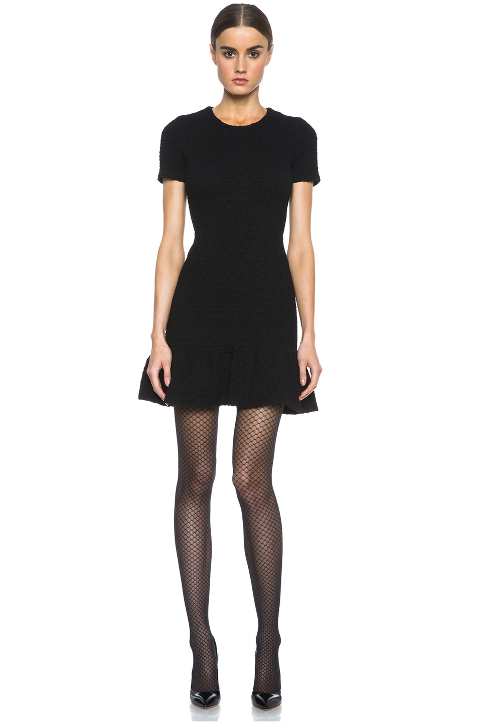 Image 6 of Wolford Iman Tights in Black