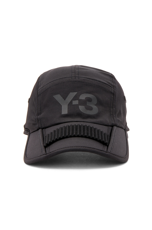 foldable logo cap - Black Yohji Yamamoto hLhrM9BN0