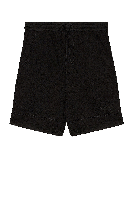 Image 1 of Y-3 Yohji Yamamoto Terry Shorts in Black