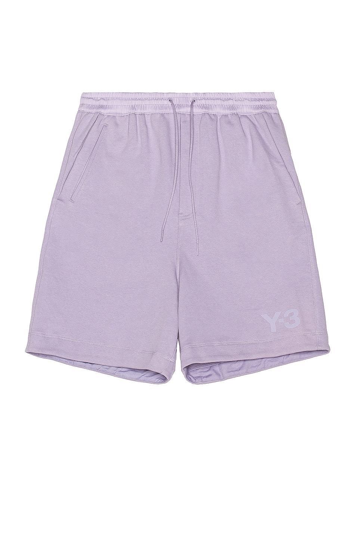 Image 1 of Y-3 Yohji Yamamoto Classic Terry Shorts in Hope