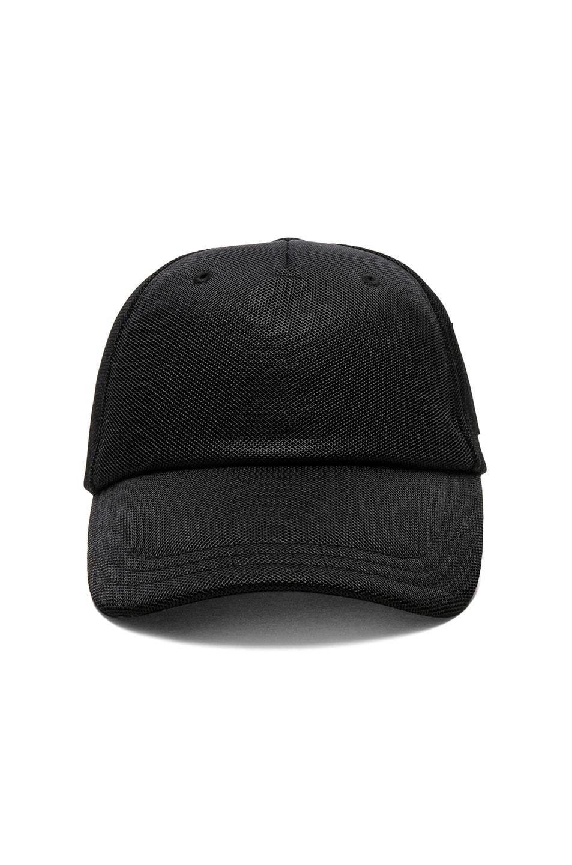 Image 1 of Y-3 Yohji Yamamoto Badge Cap in Black 2b501b8a073