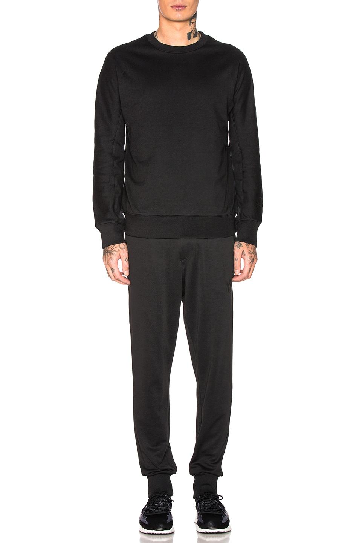 Image 4 of Y-3 Yohji Yamamoto Classic Crew Sweater in Black