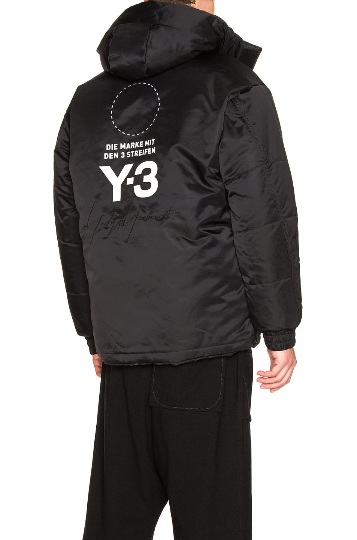 71c57c97cbc1b Image 1 of Y-3 Yohji Yamamoto Padded Jacket in Black