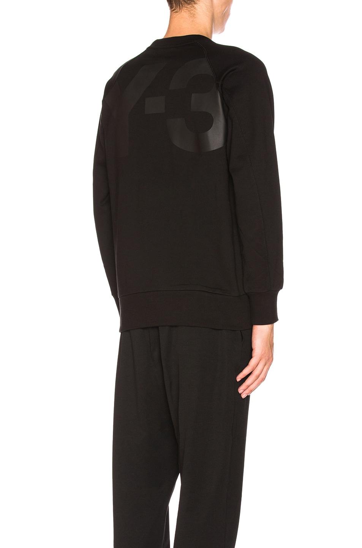 Image 1 of Y-3 Yohji Yamamoto Classic Sweater in Black