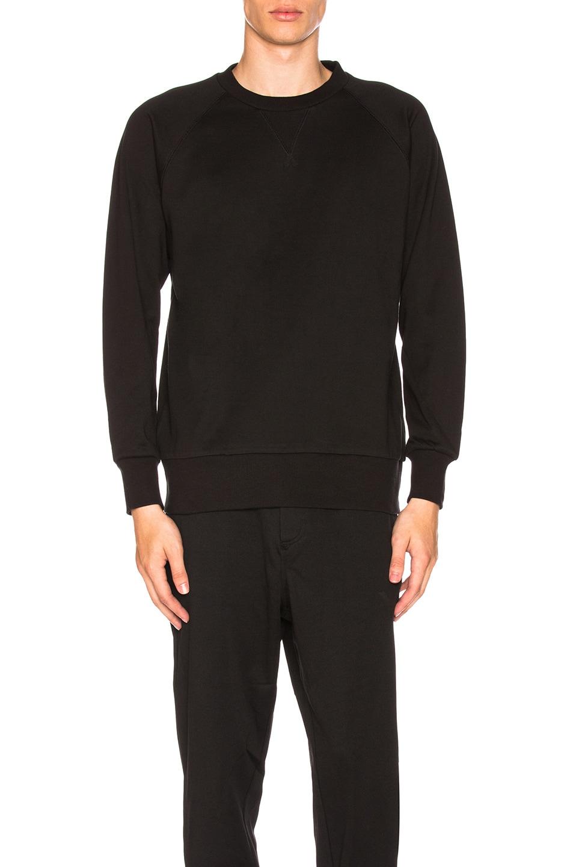 Image 2 of Y-3 Yohji Yamamoto Classic Sweater in Black
