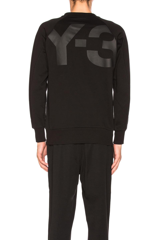 Image 4 of Y-3 Yohji Yamamoto Classic Sweater in Black