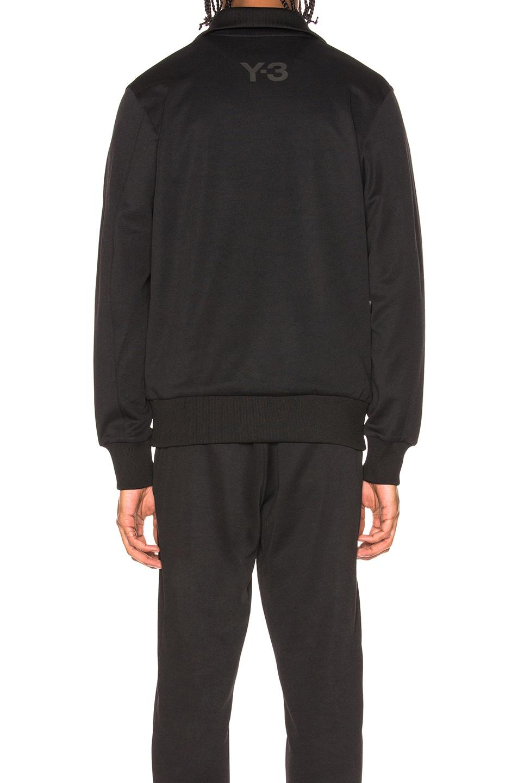 Image 4 of Y-3 Yohji Yamamoto Classic Track Jacket in Black