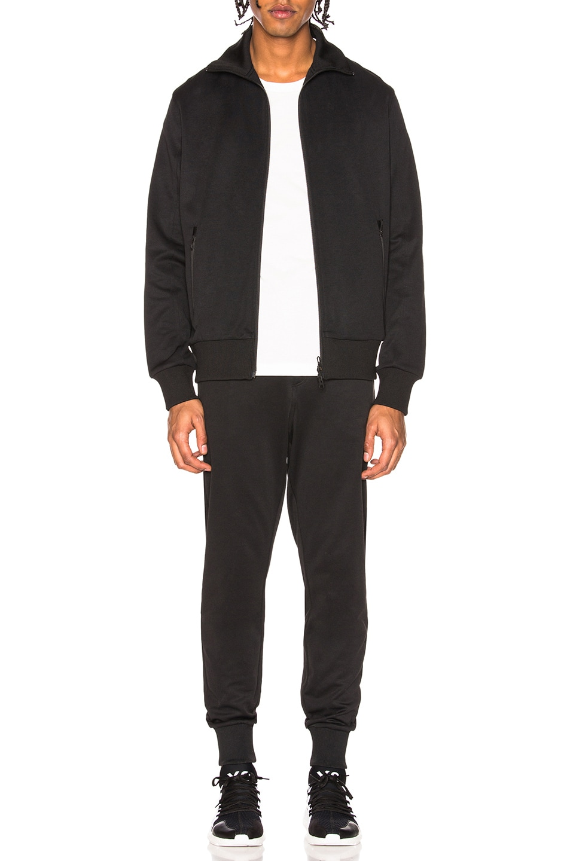 Image 4 of Y-3 Yohji Yamamoto Classic Track Pants in Black