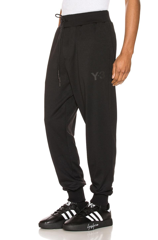 Image 1 of Y-3 Yohji Yamamoto CL Track Pant in Black