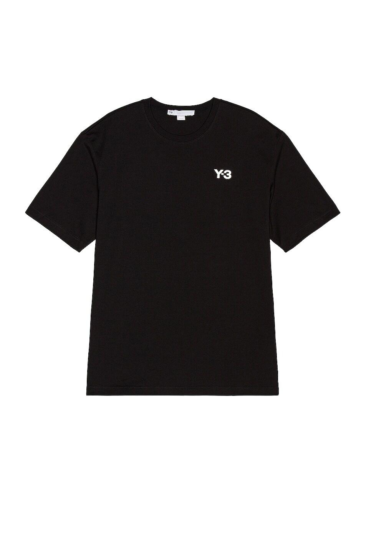Image 1 of Y-3 Yohji Yamamoto CH1 GFX Short Sleeve Tee in Black