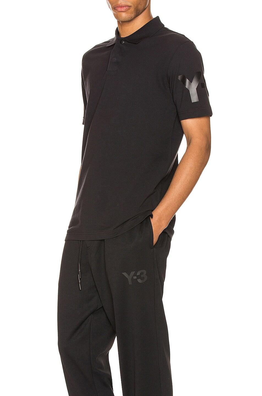 Image 1 of Y-3 Yohji Yamamoto CL Polo in Black
