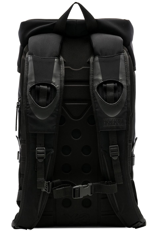 Image 2 of Y-3 Yohji Yamamoto Ultratech Small Bag in Black