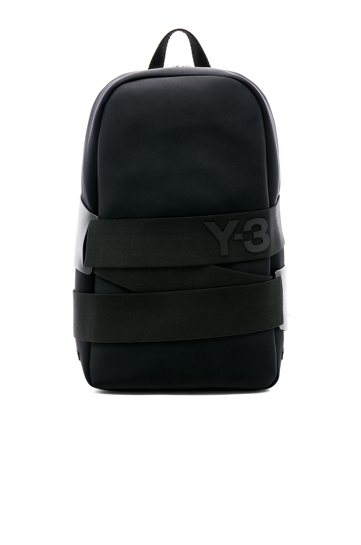 5c0b00863bfd Image 1 of Y-3 Yohji Yamamoto QRush Backpack in Black