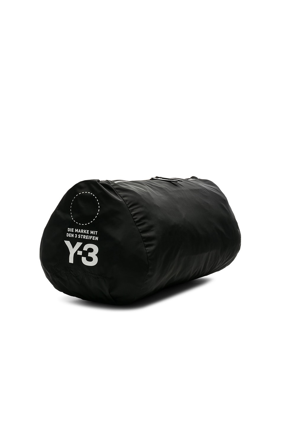 Image 3 of Y-3 Yohji Yamamoto Gym Bag in Black