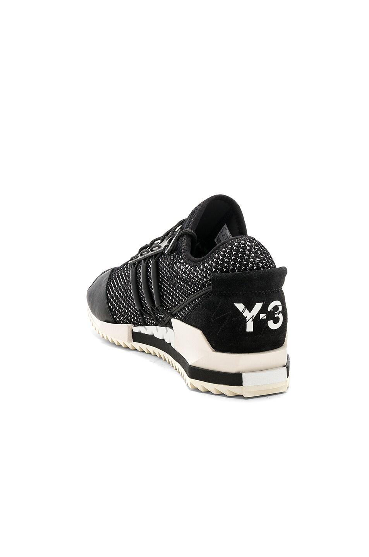 e2b9aec110583 Image 3 of Y-3 Yohji Yamamoto Harigane in Black Y3   Champagne Y3