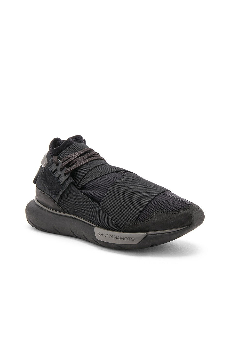819aee5ed Image 1 of Y-3 Yohji Yamamoto Qasa High in Core Black
