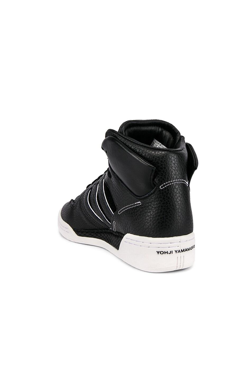 Image 3 of Y-3 Yohji Yamamoto Hayworth Sneaker in Black