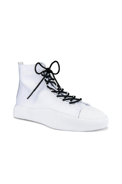 Image 1 of Y-3 Yohji Yamamoto Bashyo Hi-Top Sneaker in White