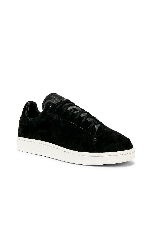 Image 1 of Y-3 Yohji Yamamoto Court Sneaker in Core Black
