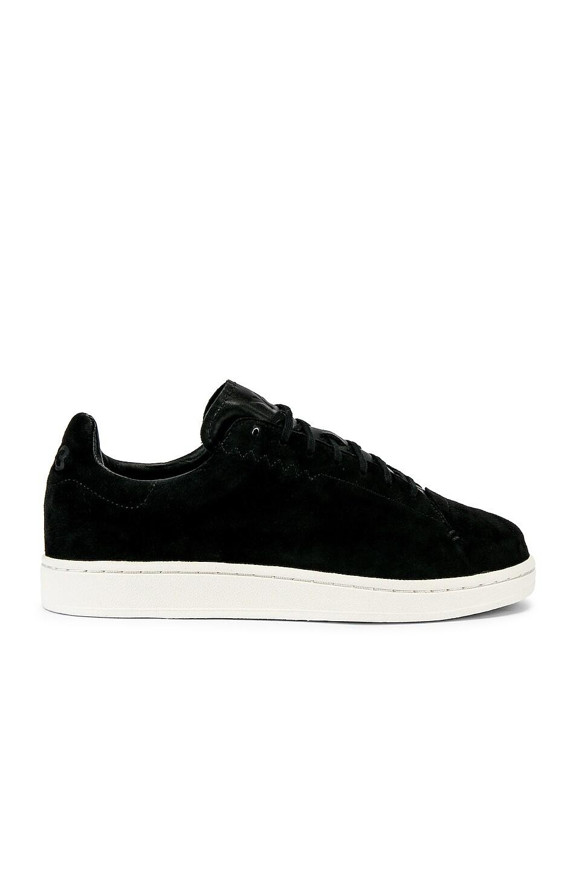 Image 2 of Y-3 Yohji Yamamoto Court Sneaker in Core Black