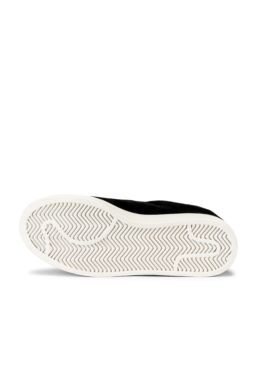 Image 6 of Y-3 Yohji Yamamoto Court Sneaker in Core Black