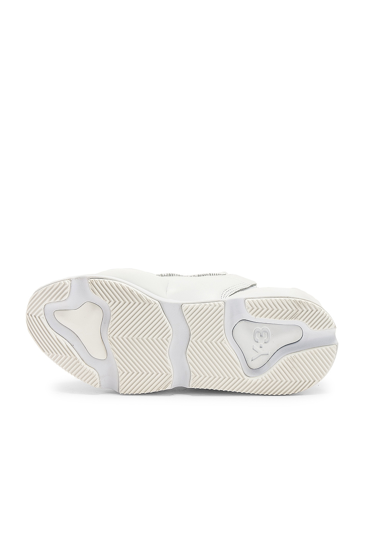 Image 6 of Y-3 Yohji Yamamoto Kaiwa Sneaker in White & Black