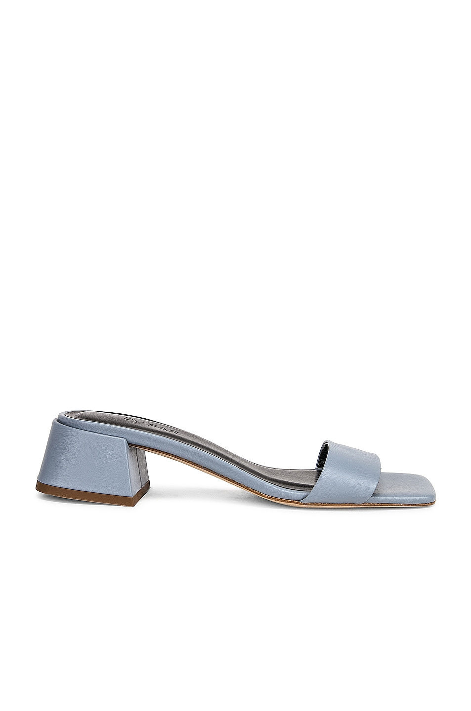 Image 1 of BY FAR Courtney Leather Sandal in Light Blue