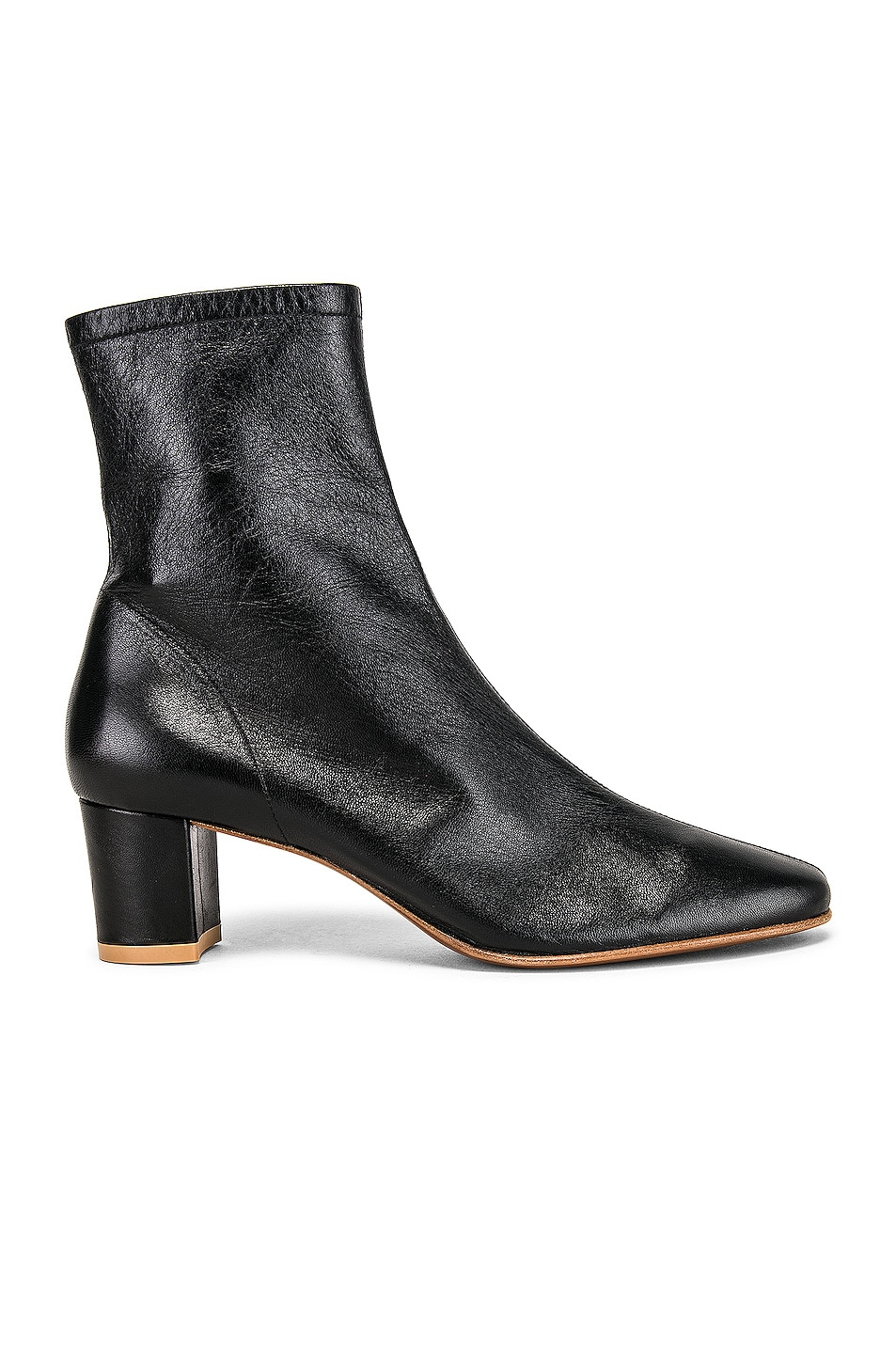 Image 1 of BY FAR Sofia Leather Boot in Black