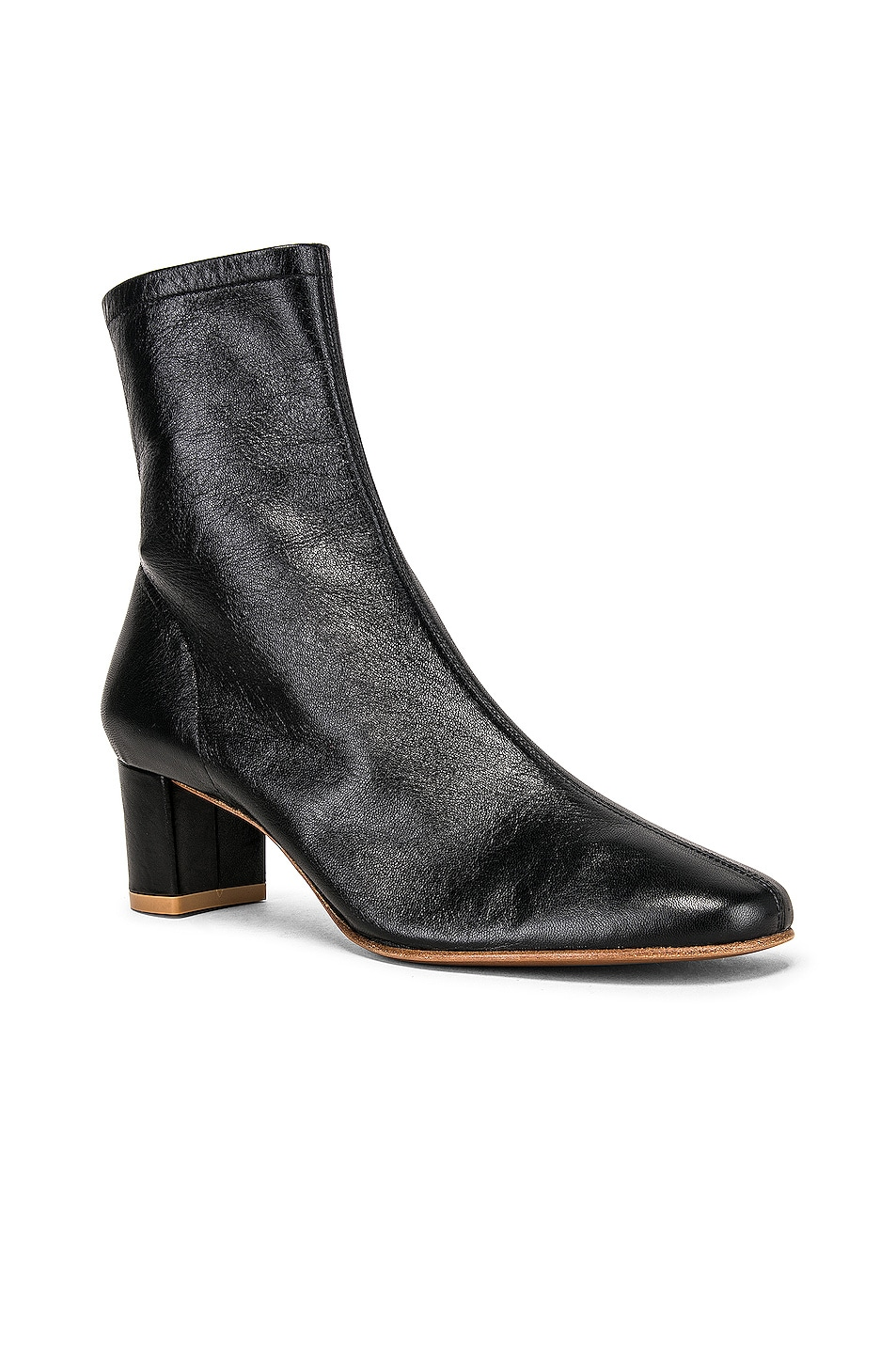 Image 2 of BY FAR Sofia Leather Boot in Black