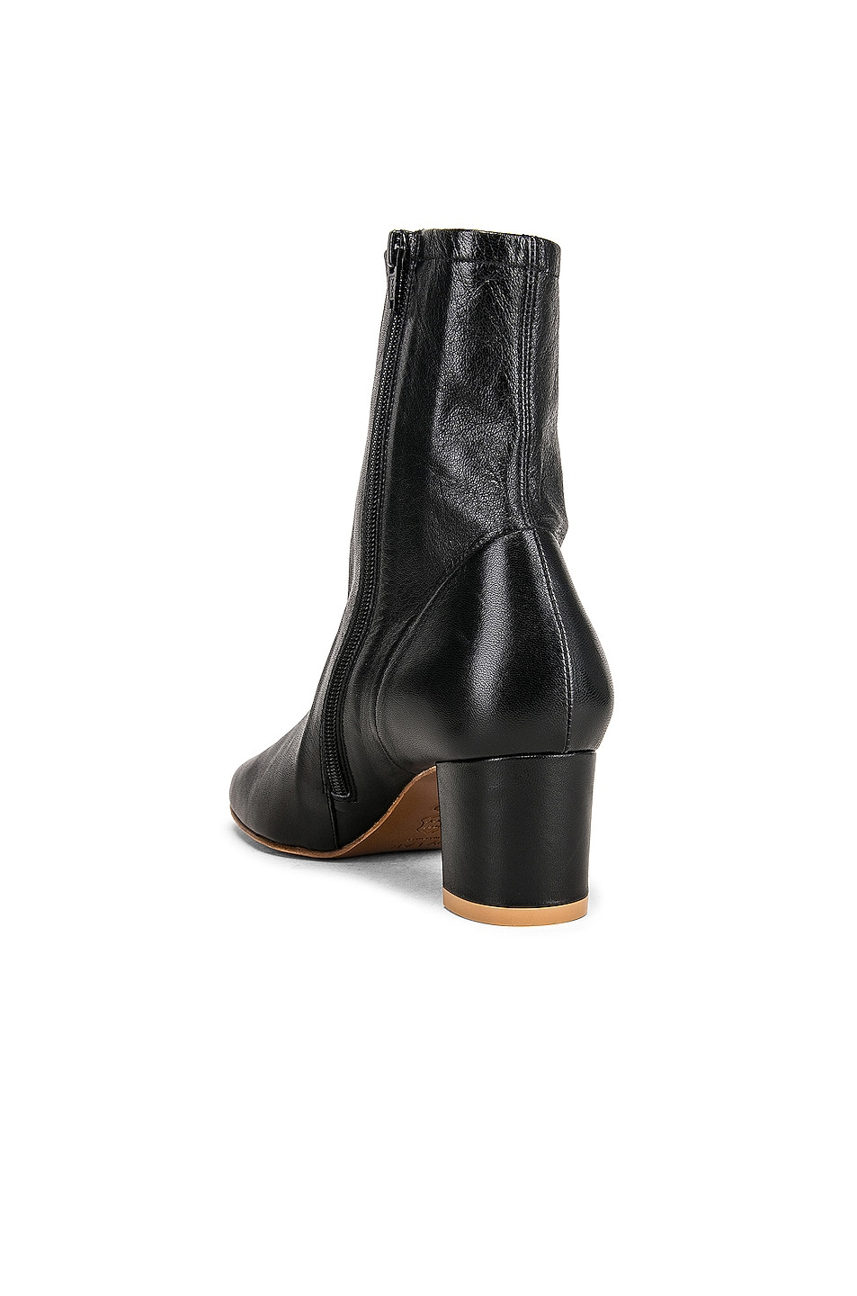 Image 3 of BY FAR Sofia Leather Boot in Black