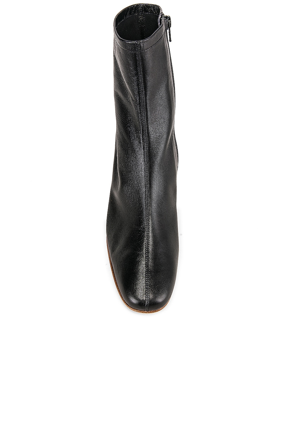 Image 4 of BY FAR Sofia Leather Boot in Black
