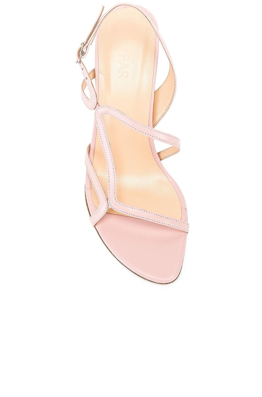Image 4 of By Far Bridgette Sandal in Blush Leather