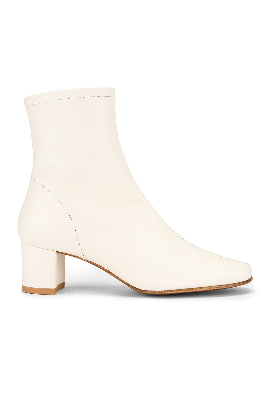 Image 1 of BY FAR Sofia Leather Boot in White